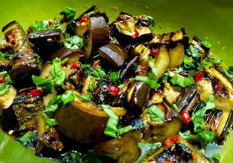 A delicious way of eating aubergine