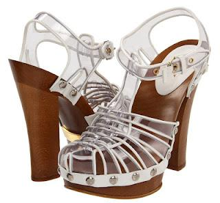 Shoe of the Day | Marc Jacobs MJ18054 00070 100 101 Transparent Sandals