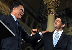 Romney stuck with Ryan?
