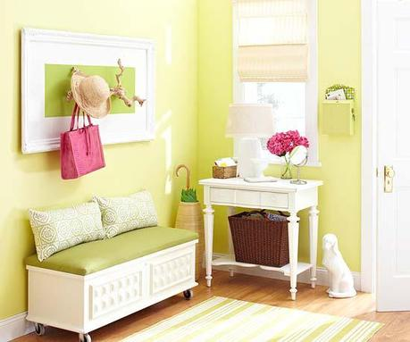Happy Friday - bright and cheerful spaces!