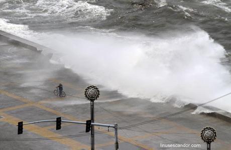 Wind, Rain Slam Metro