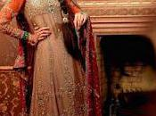 Stylish Popular Pakistani Bridal Lehnga Collection 2012