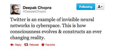 Deconstructing Deepak