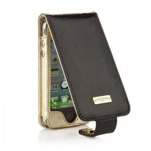 Pipetto Luxury Flip Leather iPhone 4 / 4S Case