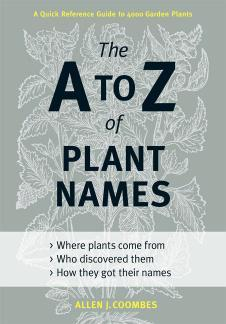 Book Review: The A-Z of Plant Names