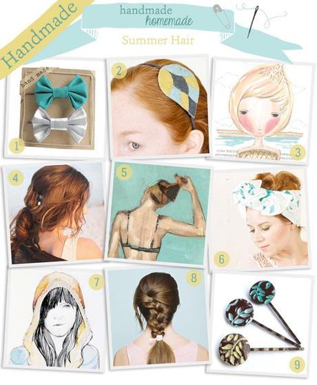 Handmade/ Homemade: DIY hair inspiration