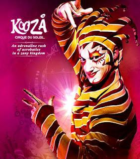 Save the Date: KOOZA from Cirque du Soleil
