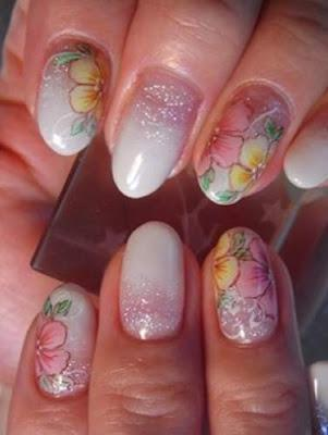 Nail Art Designs for Eid 2012