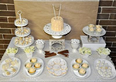 pearls and lace theme by sweet avenue