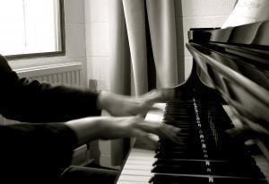 Through the Piano