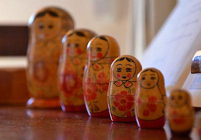 The Coolest Nesting Dolls Ever