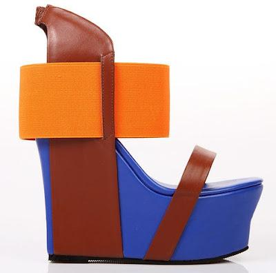 Shoe of the Day | LASPACENY Behind The Scenes Platform Wedge