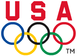 English: United States Olympic Committee logo.
