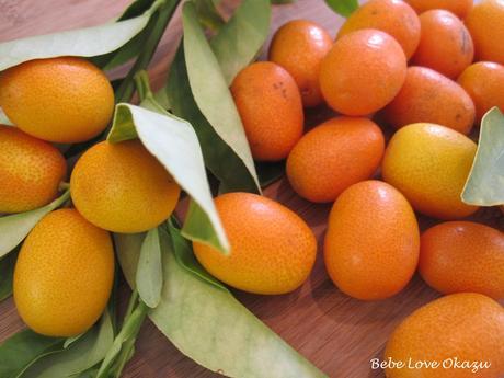 Kinkan Kanro-Ni (Candied Kumquats)