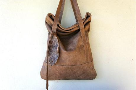 Distressed Leather Bags