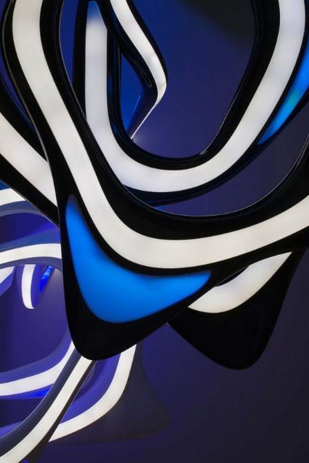 The Vortex Chandelier By Zaha Hadid
