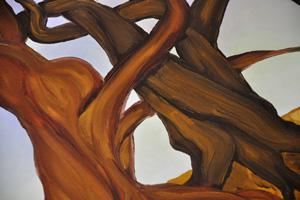 Work in Progress Sneak Peek: Intertwined branches
