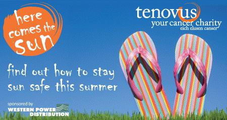 welsh cancer charity tenovus logo