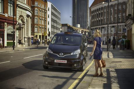 Cab hail Nissan launches alternative to traditional London 'Black Cab'