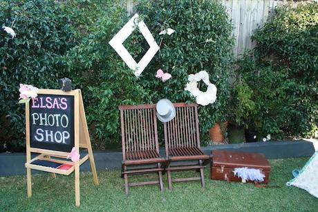 Really pretty Shabby and vintage inspired 1st Birthday from Deanne from Mum's to do list