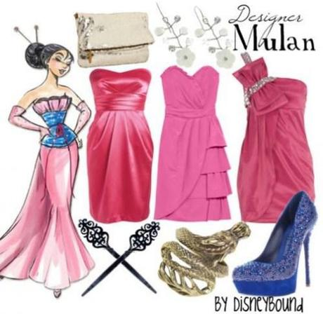 Disney Princess inspired fashion