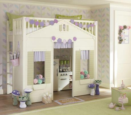 Playhouse Loft Bed For Your Children Paperblog