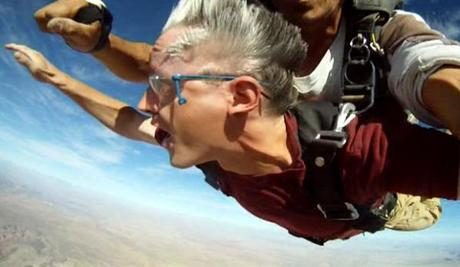 Skydive, tandem jump, first jump, adventure travel, Skydive Moab