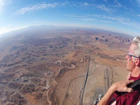 Skydive moab view