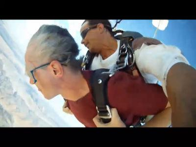 EverywhereOnce Goes Skydiving