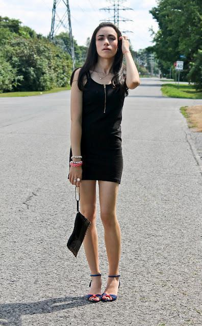 OOTD Little Black Dress Paperblog