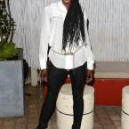 "Rutina Wesley attends The Cinema Society Screening of ""Sparkle"""