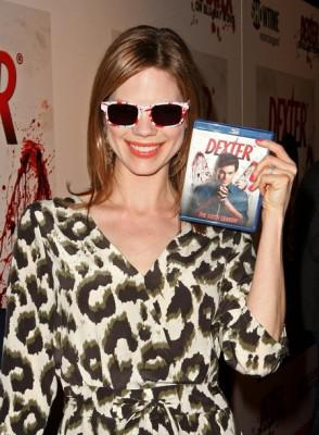 "Mariana Klaveno attends the Blu-ray and DVD launch of ""Dexter"