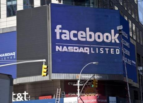 Facebook shares are down