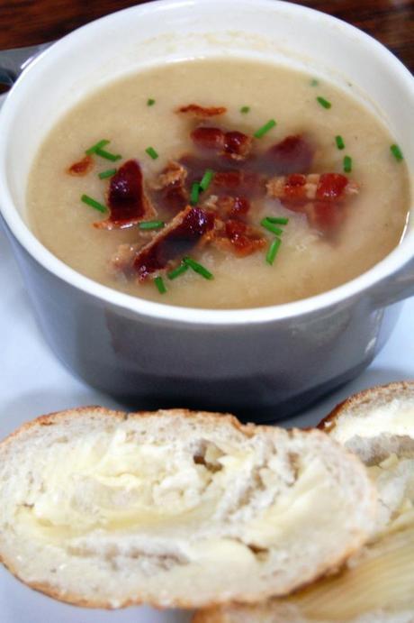 Tasty Butterbean and Pancetta soup