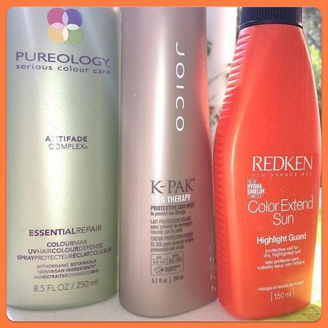 Sun Protection for Your Hair : Pureology,  Joico & Redken