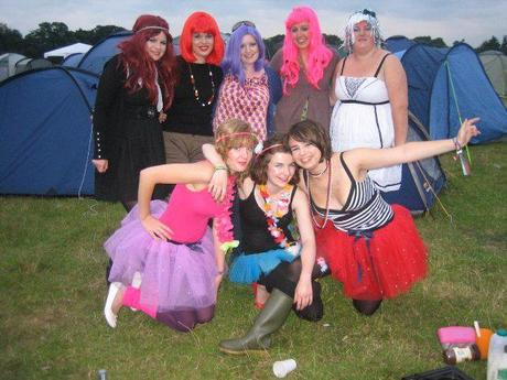 V-Festival is tuning up as we speak! Festival fashion for fairies
