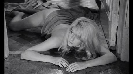 "I just googled ""repulsion,"" to find out what kind of word it is, and came upon all of these amazing pictures of Catherine Deneuve. From the movie Repulsion (1965), of course. From Wikipedia:  ""Carol Ledoux (Catherine Deneuve) is a young Belgian manicurist who lives in Kensington, London, with her sister Helen (Yvonne Furneaux). Carol seems shy and interacts with men awkwardly. When Helen leaves on a holiday to Italy with her married boyfriend, Michael (Ian Hendry), Carol appears distracted at work, refuses to leave her apartment, leaves a raw, skinned rabbit out to rot, and sees hallucinations, first of the walls cracking, then hands reaching out to grab and attack her, and repeated nightmares or hallucinations of a man breaking into her bedroom and raping her. When Colin (John Fraser), a would-be suitor whom she has rejected, breaks into the flat, she bludgeons him to death with a candlestick and dumps the body into the overflowing bath. Later, the landlord (Patrick Wymark) arrives for the late rent. Carol pays him and at first just sits on the sofa, staring into space, as he remarks on the state of the apartment and gives her water to drink. But when he tries to force himself on her, she slashes him to death with a straight razor."" Awesome. I have a rabbit in the freezer. Who wants to come over for dinner?"