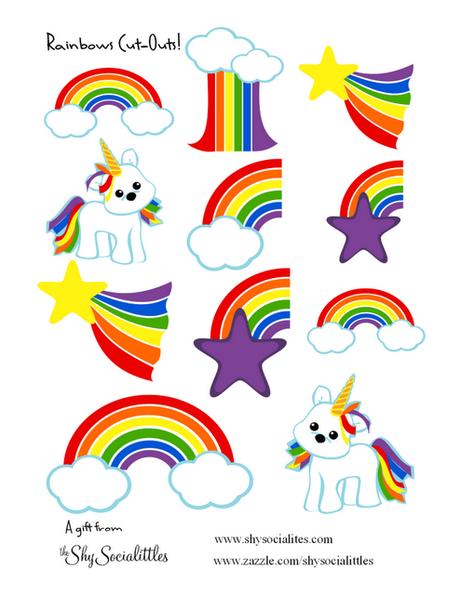 Common Worksheets u00bb Rainbow Printable - Preschool and Kindergarten Worksheets
