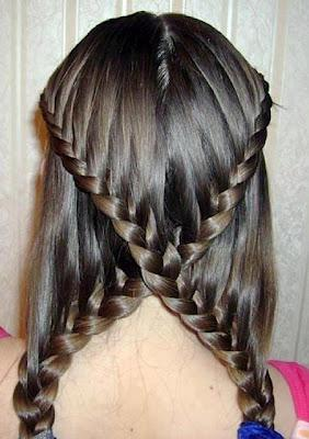 Latest New Pakistani Hairstyle Collection For Girls 2012