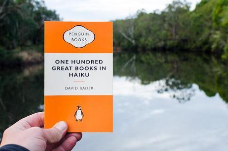 holding penguin book one hundred great books in haiku
