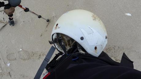 helmet found on the beach