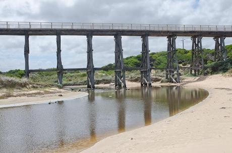 trestle bridge at kilcunda beach