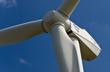 wonthaggi wind farm blade close up