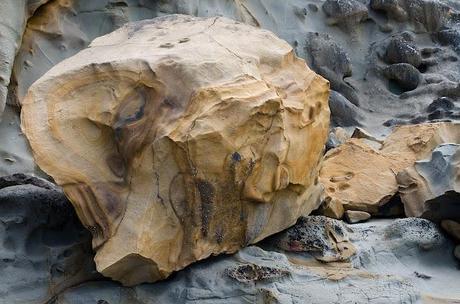 large rock at kilcunda beach