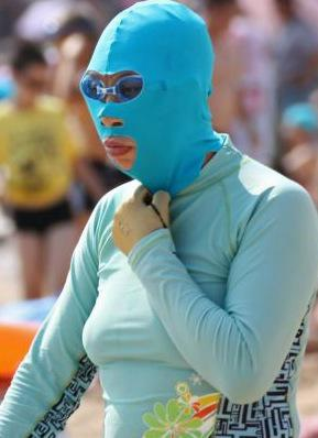 The Face-Kini: Protect Yourself From the Sun…and Rob a Bank at the Same Time