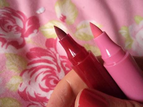 ELF Lip Stain - Crimson Crush & Pink Petal