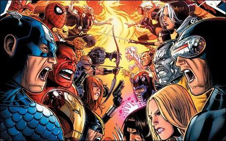 Avengers vs. X-Men Hardcover Cover