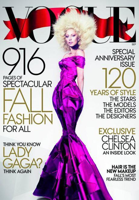 Monsterised Vogue or September issue with Gaga