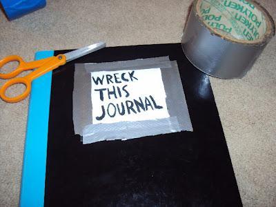 Diy wreck this journal make your own paperblog make your own diy wreck this journal make your own solutioingenieria Images