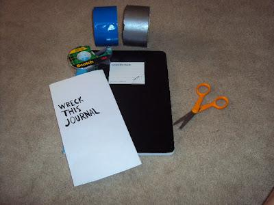 Diy wreck this journal make your own paperblog diy wreck this journal make your own solutioingenieria Images